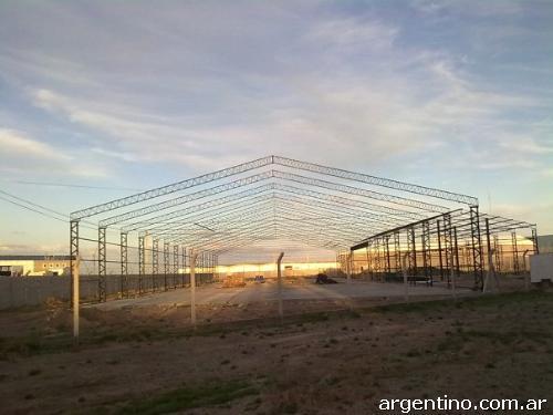 Fotos de construcci n de galpones tinglados techos - Fotos de construcciones metalicas ...