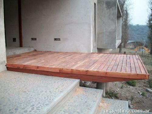 Fotos de armado de techos de madera para teja o chapas - Fotos techos de madera ...