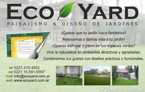 Eco Yard Jardiner A Y Paisajismo En La Plata Tel Fono Y
