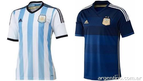 Se venden camisetas de argentina mundial 2014 original en Mendoza ... b57d86ea35eff