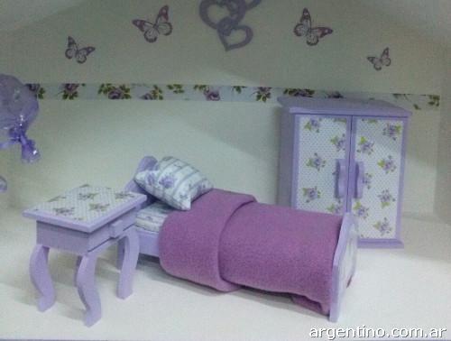 Muebles para muñecas barbie en san miguel