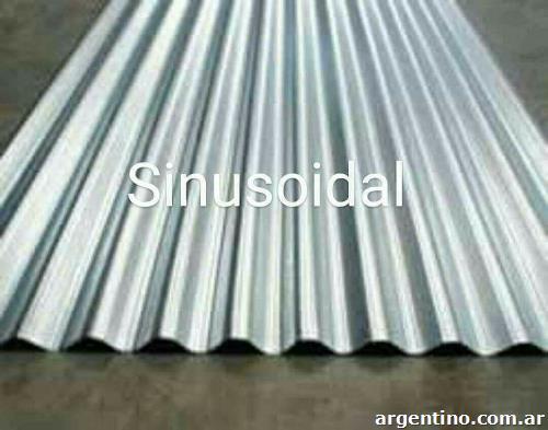 Chapas para techos trapezoidal y sinusoidal s per oferta - Precio chapa galvanizada ...