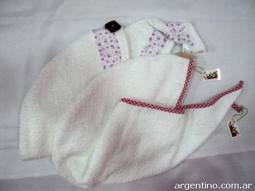 Turbantes De Toalla Toallas Decoradas Artesanales Cubre Sanitarios - Decoracion-con-toallas