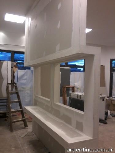 Instalador de durlock placas de yeso sobre estructura met lica en c rdoba capital tel fono - Placas de yeso para pared ...