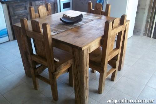 Arte rustika muebles r sticos cordilleranos trabajamos - Ver muebles rusticos ...