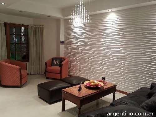 Fotos de placas decorativas antihumedad en villa loma hermosa for Placas decoradas para pared