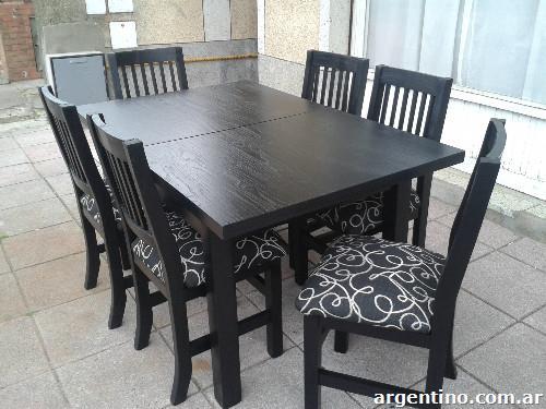 mesa y sillas en mar del plata