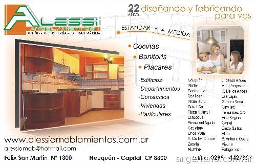 Muebles Para Baño Neuquen:Alessi Amoblamientos Dtc en Neuquén Capital: teléfono y dirección