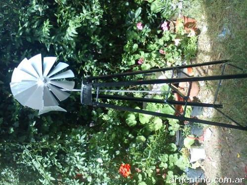 Molinos de viento para adorno de jard n en bah a blanca for Como hacer molinos de viento para el jardin