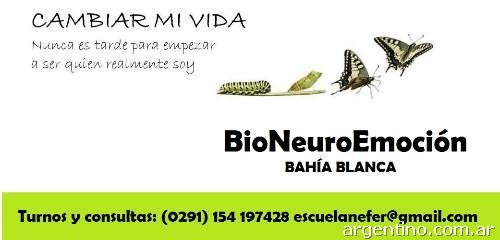Biodescodificacion - Bioneuroemoción en Bahía Blanca: teléfono