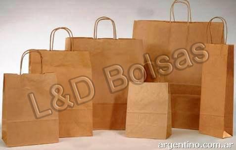 79470abd9 Bolsas de papel kraft y polietileno en Saavedra