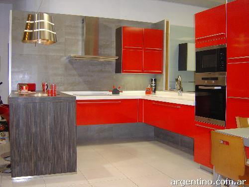 Fotos de muebles de cocina bajo mesada alacenas en san for Muebles bajos cocina negro