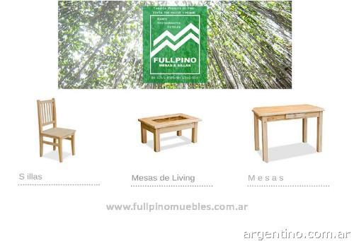 Fotos de f brica de mesas y sillas de pino en san fernando for Fabrica mesas y sillas