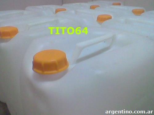 Bidones 30 litros blancos especiales para agua potable o for Tambores para agua potable