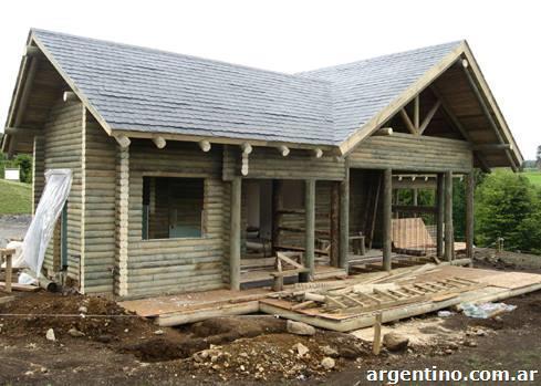 Casas prefabricadas caba as de troncos en eldorado tel fono y direcci n - Cabanas casas prefabricadas ...