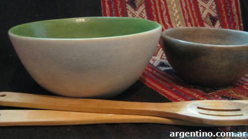 Cuencos ensaladeras de cer mica artesanal en necochea for Ceramica buenos aires