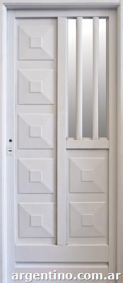 Puertas de chapa l nea eco en rosario for Fabrica de aberturas de aluminio en rosario santa fe