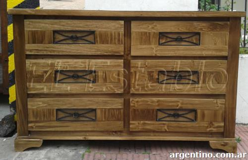 Muebles estilo campo entregas en r o gallegos santa cruz for Todo muebles web