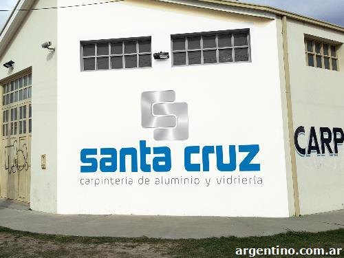 Carpinter a de aluminio y vidrier a santa cruz en r o for Carpinterias de aluminio en argentina