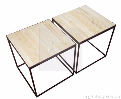 Fotos de tkon muebles en hierro y madera en bernal for Muebles de hierro y madera