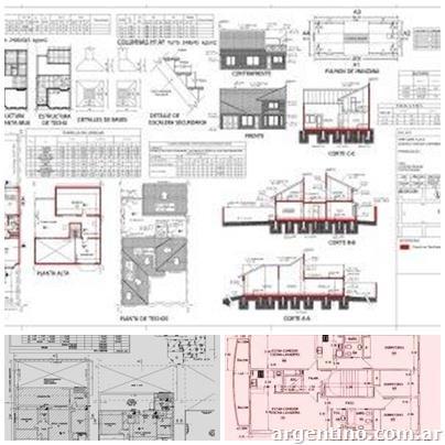 Fotos de arquitecto planos municipales construcci n en - Planos de arquitectos ...