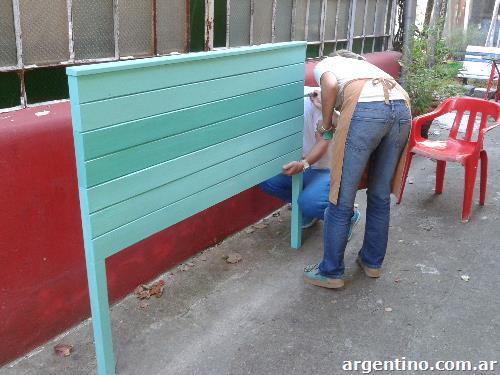 Fotos de san isidro curso de p tinas y restauraci n de muebles for Clases de restauracion de muebles