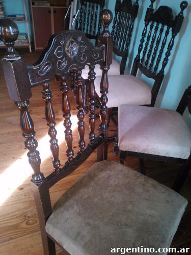 Fotos de sillas estilo espa ol en jun n - Sillas estilo espanol ...