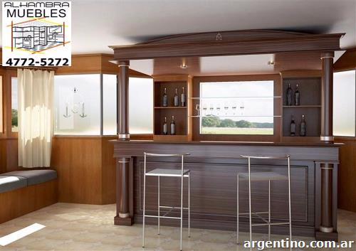 Fotos de alhambra f brica de muebles de cocina alacenas for Barras para cocina y desayunadores
