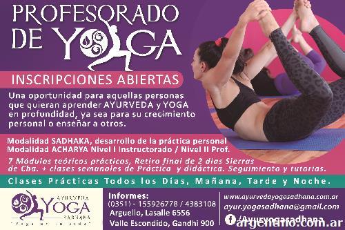 Profesorado De Yoga   Ayurveda Sadhana en Córdoba Capital 45e1ea68a222