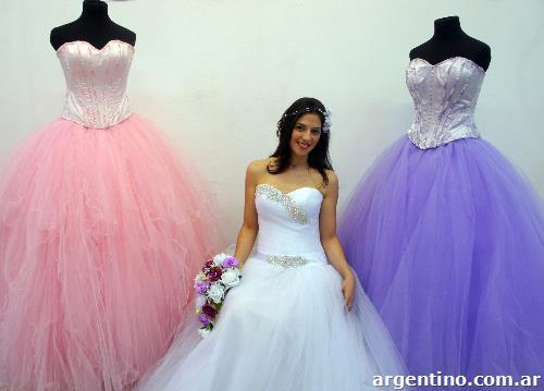 Precio de vestidos de novia en argentina