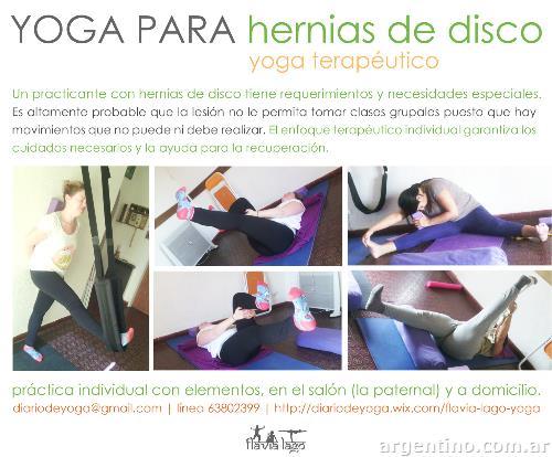 Hatha Yoga Terapéutico Individual Para Lesiones De Columna En Paternal