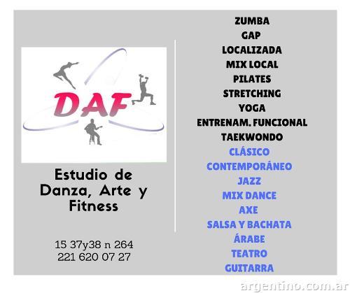 Estudio Daf Danza Arte Y Fitness En La Plata Tel Fono