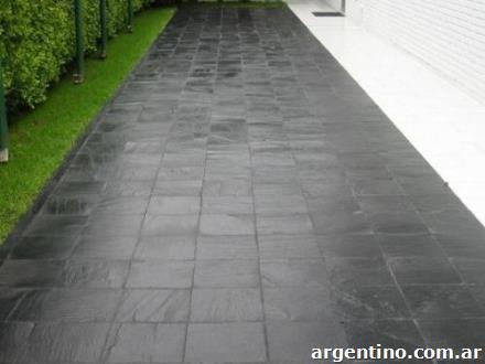Fotos de pisos exterior veredas quinchos patios r sticos for Pisos para patios rusticos