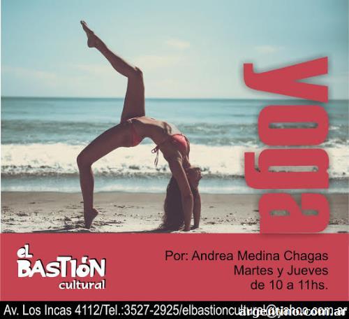 Clases De Yoga Villa Ortuzar En El Bastión Cultural en Villa Urquiza 40150ad1b6f2