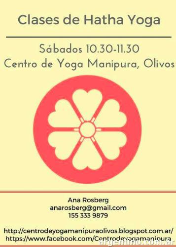 Clases de Hatha Yoga en Olivos- Sábados 10.30-11.30 en Olivos f17125ded1c1