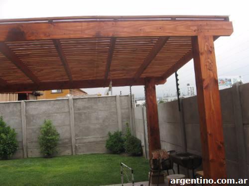 Construcci n de techos de madera p rgolas etc en c rdoba - Construccion de pergolas de madera ...