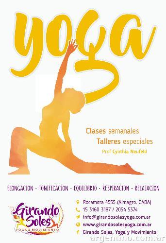 Clases de Yoga en Almagro - Villa Crespo 440e10c4847c