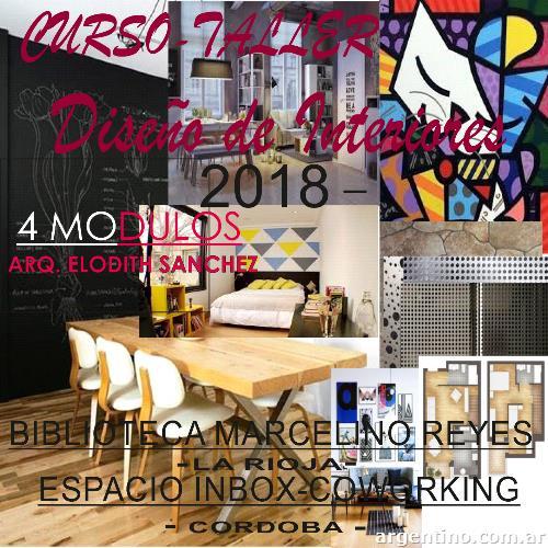 Curso-taller Diseño De Interiores en Córdoba Capital