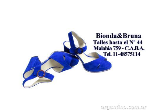 En liquidación comprar lo mejor moda atractiva Zapatos talles grandes de mujer Bionda&bruna en Villa Crespo ...